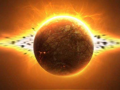 Sun-explosion